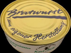 xx Dosenwurst : Bratwurst xx