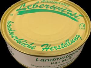 xx Dosenwurst : Leberwurst xx